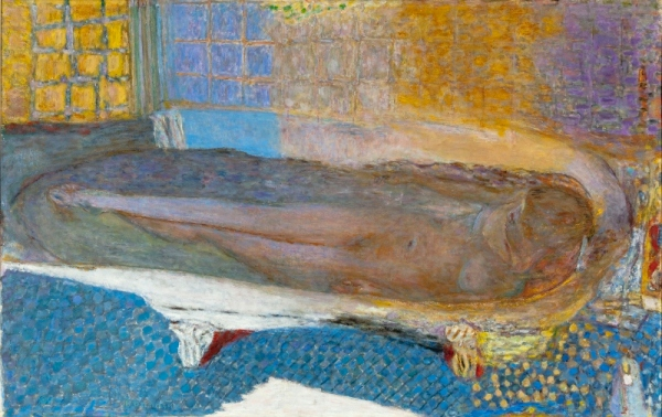Nude in the Bath (1936-8) by Pierre Bonnard © Musée d'Art moderne de la Ville de Paris/ Roger-Viollet