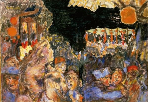 The Fourteenth of July 1918 by Pierre Bonnard. Private collection
