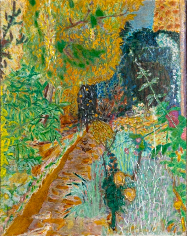 The Garden (1936) by Pierre Bonnard © Musée d'Art moderne de la Ville de Paris/ Roger-Viollet