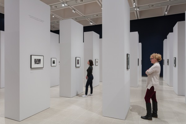 Installation view of diane arbus: in the beginning at Hayward Gallery, 2019. Photo by Mark Blower