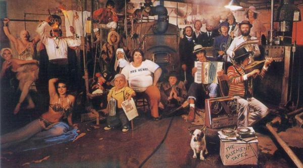 Cover of The Basement Tapes by Bob Dylan (1975)