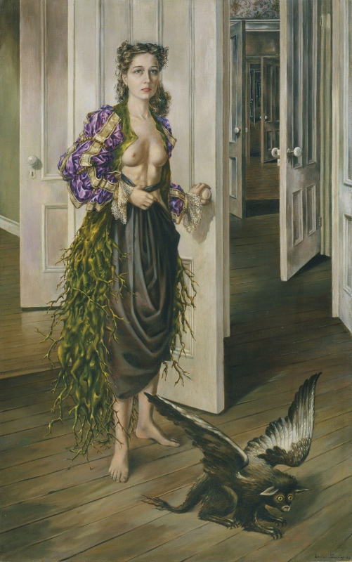 Birthday (1942) by Dorothea Tanning. Philadelphia Museum of Art © DACS 2019