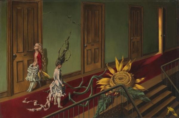 Eine Kleine Nachtmusik (1943) by Dorothea Tanning. Tate © DACS 2019