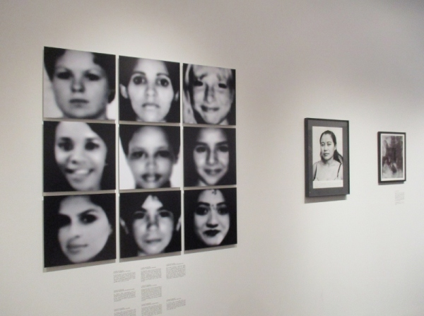 Installation view of On Abortion by Laia Abril. Photo by the author
