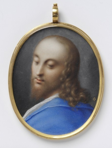 Jesus Christ by Isaac Oliver (1610)