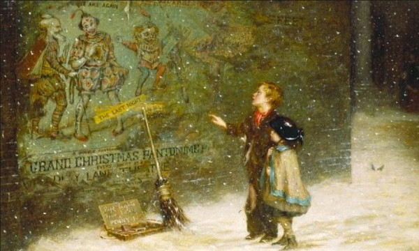 Remembering Joys that Have Passed Away (1873) by Augustus E. Mulready