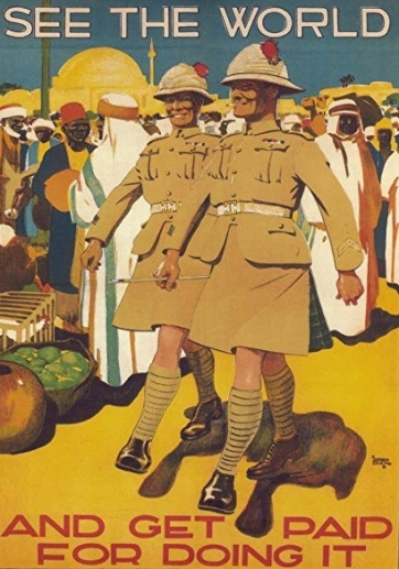 See the World 1919 recruitment poster