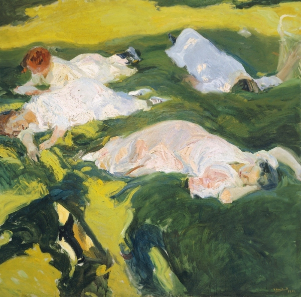 The Siesta (1911) by Joaquín Sorolla © Museo Sorolla, Madrid