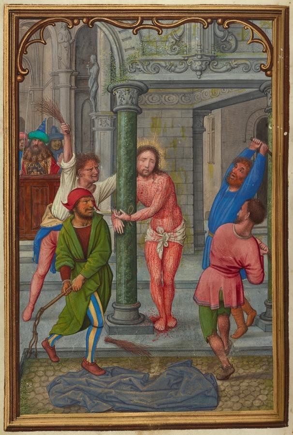 d6803eb67e3 The Flagellation by Simon Bening (1525–1530)