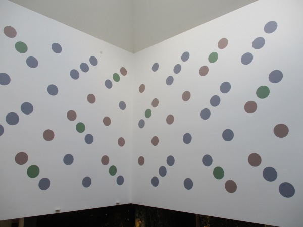 Messengers by Bridget Riley. Photo by the author