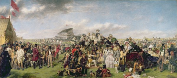 The Derby Day by William Powell Frith (1856 - 1858)