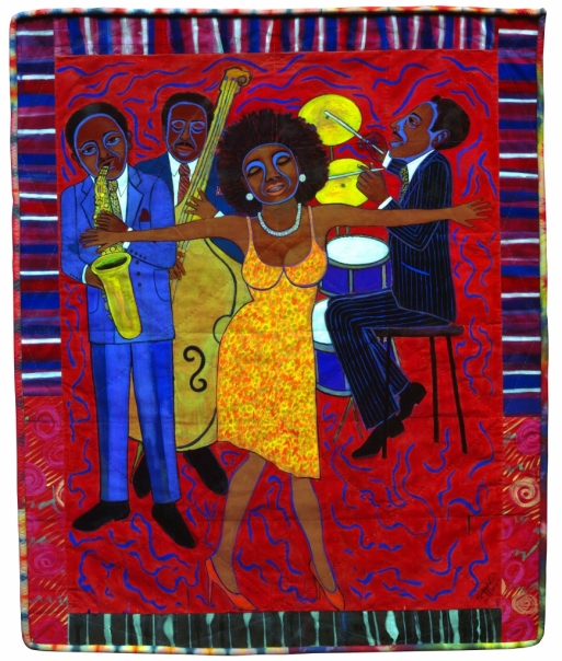eea0db99bd Jazz Stories: Mama Can Sing, Papa Can Blow #1: Somebody Stole My Broken  Heart (2004) by Faith Ringgold © 2018 Faith Ringgold / Artists Rights  Society (ARS) ...